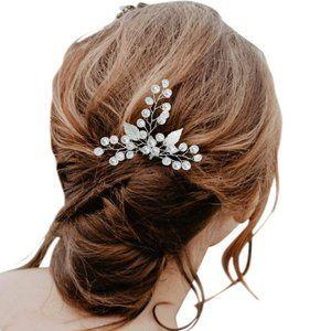 Stunning 2 piece wedding hair pin set